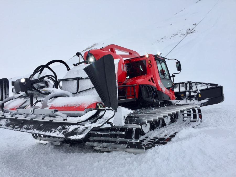 Ropeways net - Level Red: THE NEW PistenBully 600 IS HERE
