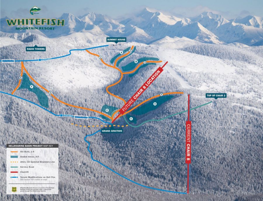 Whitefish Mountain Resort: The New Chair 4