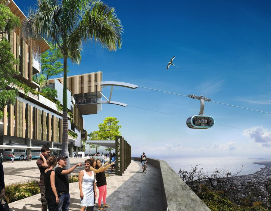 MND is awarded the construction of the 2nd urban ropeway line in Saint-Denis on Reunion Island