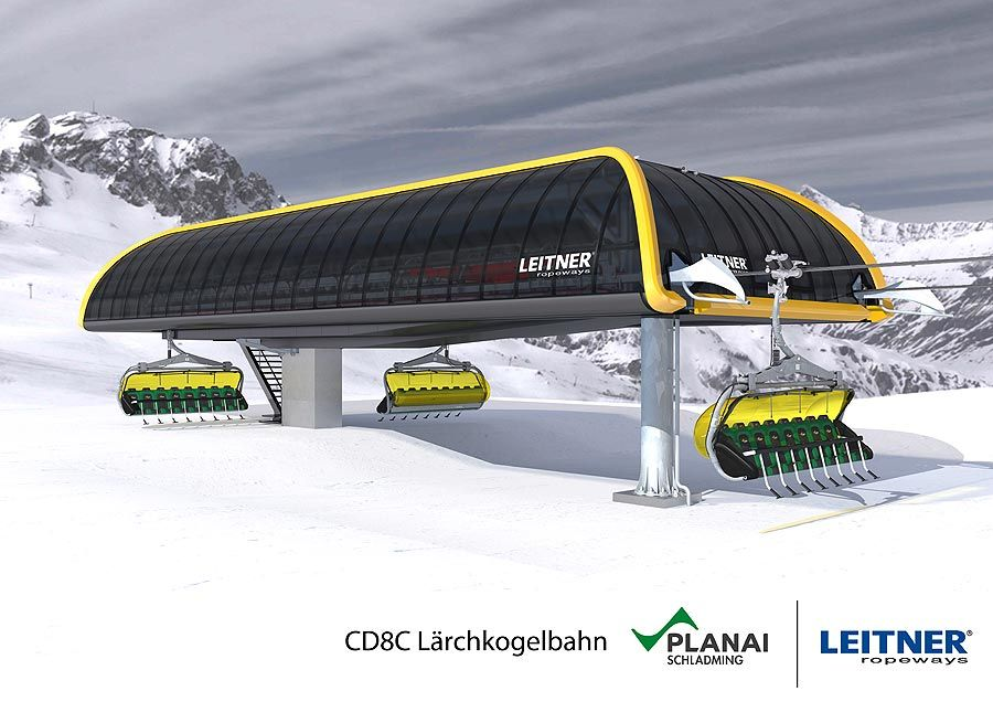 Leitner: Modern chairlift in the heart of the Planai ski resort