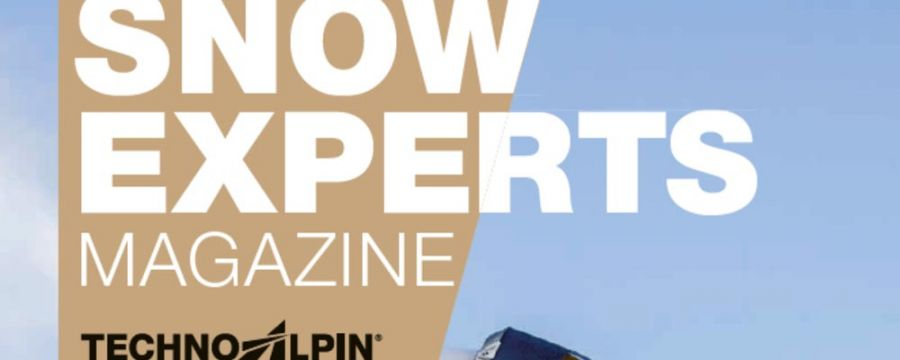 TechnoAlpin: The new special edition of the SnowExperts Magazine is out!