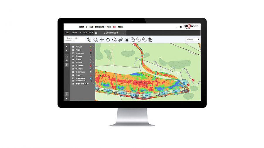 SNOWsat: Managing GIS Data - easily, accurately, digitally