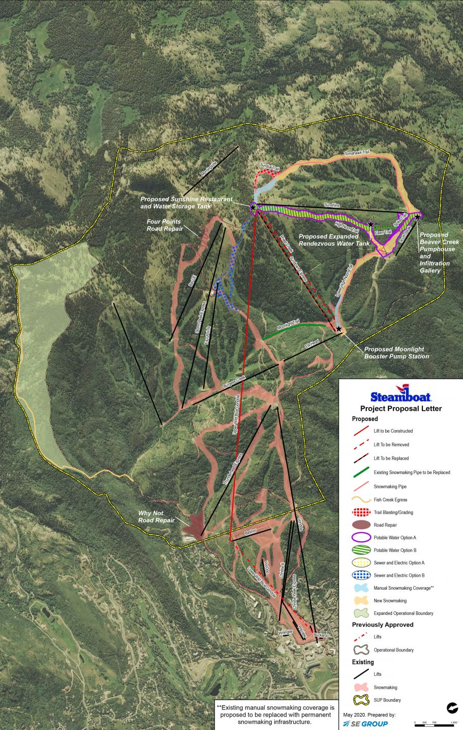 Steamboat Begins Review Process for Major On-Mountain Improvements
