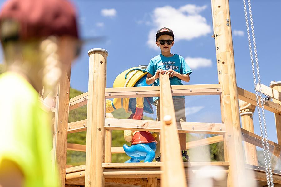 Sunkid: The Wooden Ball Track family produced offspring.