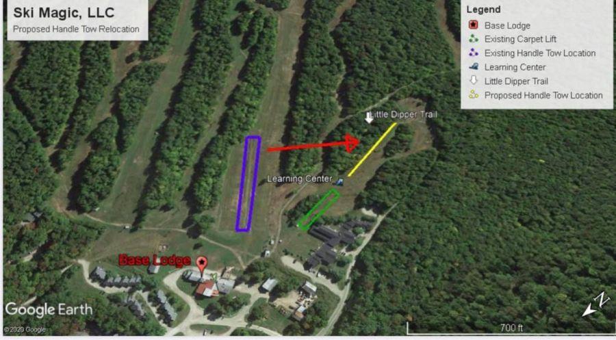 Magic Mountain Ski Area: -to/beginner area