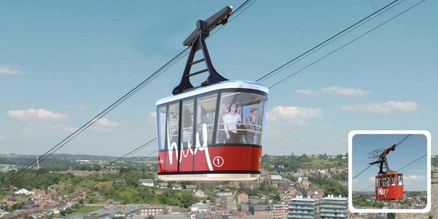 Avant Premiere Design Public: Design of Huy´s new ropeway cabins