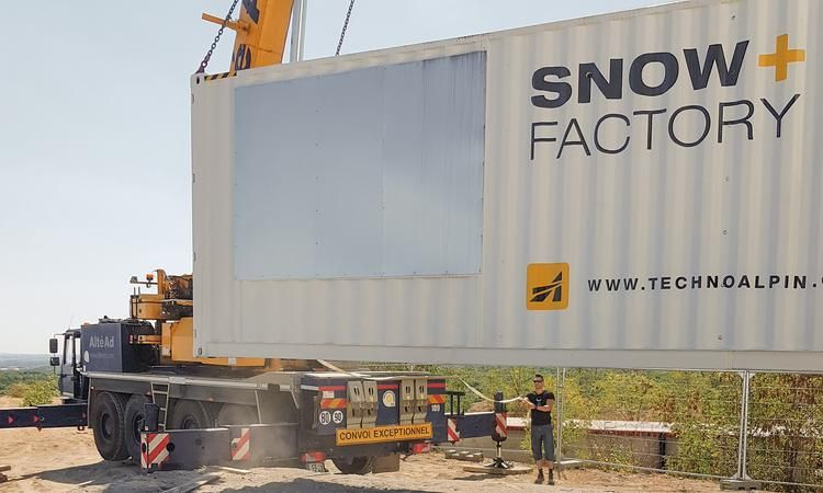 TechnoAlpin: 1st Snowfactory for a French indoor ski center