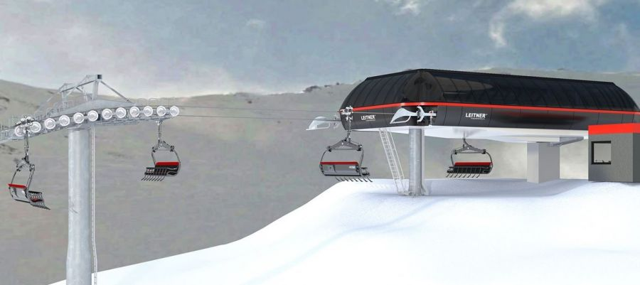 Mt Hutt / NZ: New chairlift for 2021!