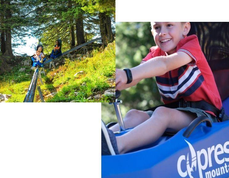 Cypress Mountain - new Mountain Coaster