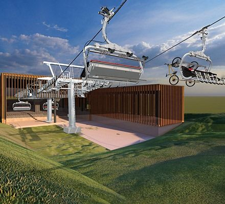 Leitner: New 6-seater chairlift on the Geisskopf in the Bavarian Forest