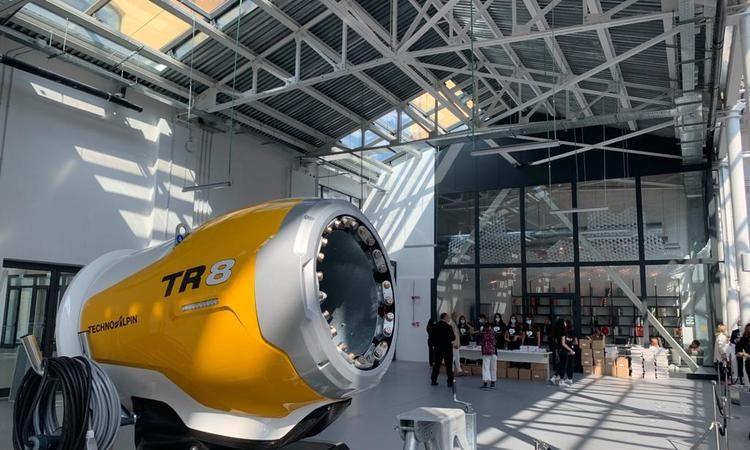 "TechnoAlpin TR8 selected as finalist for ""Compasso d'Oro"" design award"
