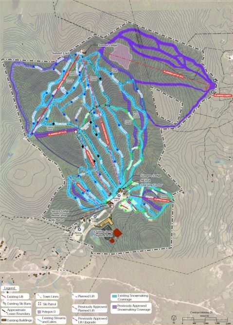 Mt. Sunapee Master Plan Includes Lift System Overhaul