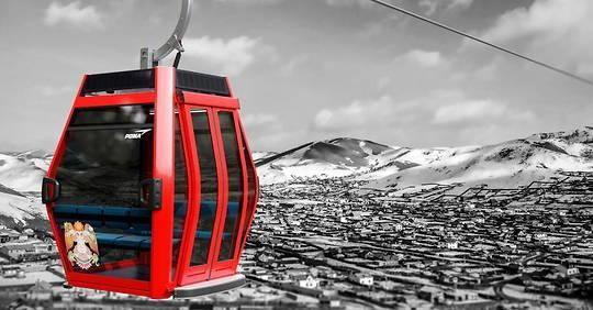 Poma: Urban gondola for Mongolia