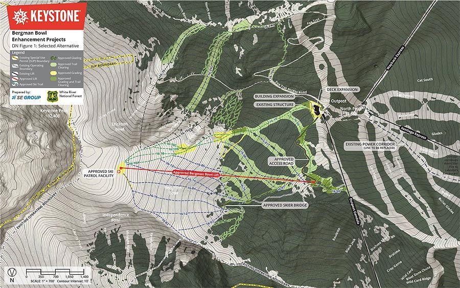 Bergman Bowl Project Moves Forward at Keystone