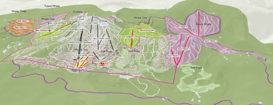 Big White Ski Resort: Draft Master Plan