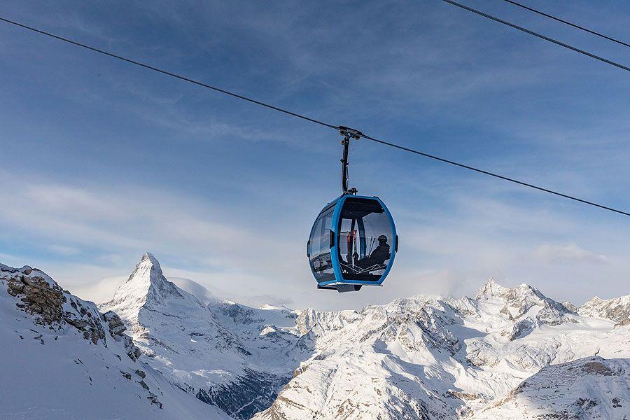 Doppelmayr: First AURO ropeway opens in Zermatt