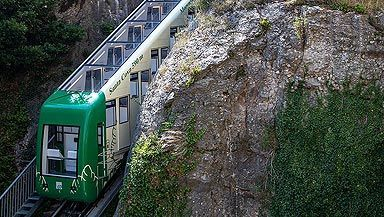 LEITNER modernized the funicular at Montserrat in Catalonia