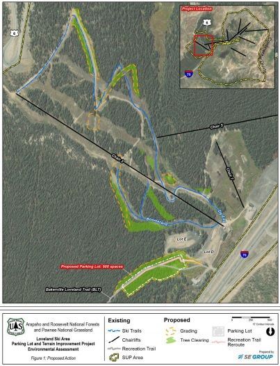 Forest Service gives initial nod to Loveland Ski Area improvement projects