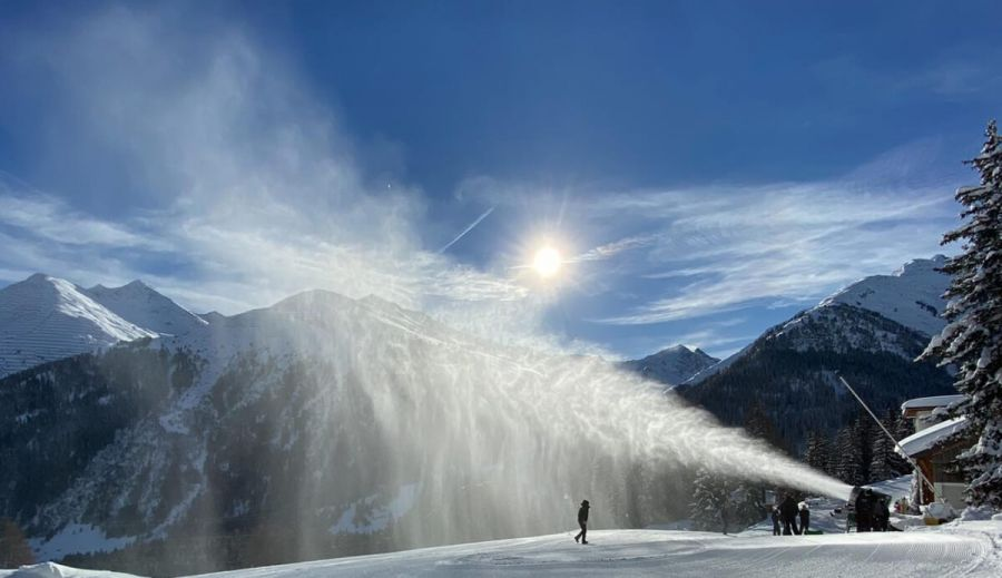 MND: Snowmaking Systems in operation from the Alps to Japan