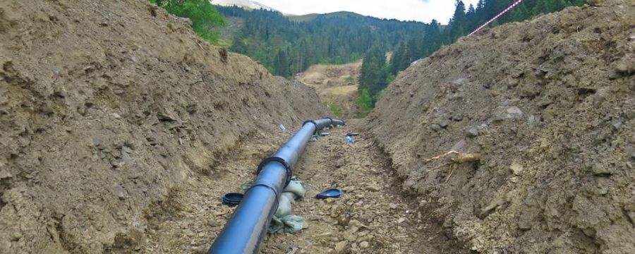 TechnoAlpin: Alpinal pipes – the reliable water supply for snowmaking