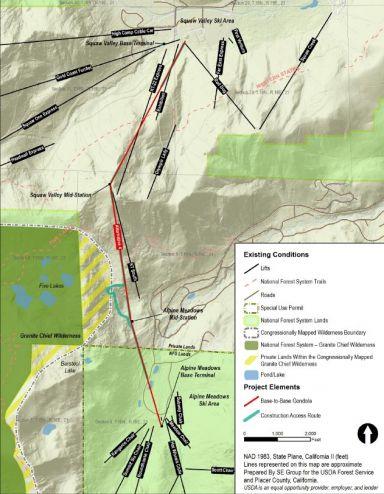 B2B Gondola to Unite Squaw Valley and Alpine Meadows