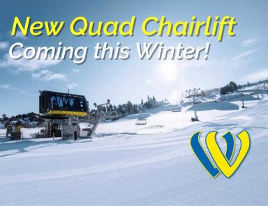 Welch Village: New 4-person fixed grip chairlift