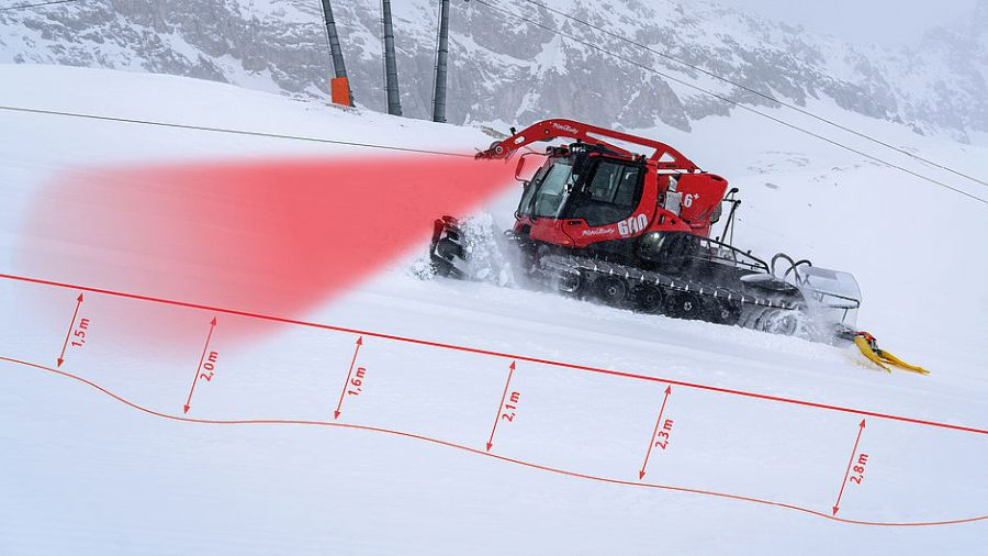 Pistenbully Snowsat: Perfect slopes from the first to the last day