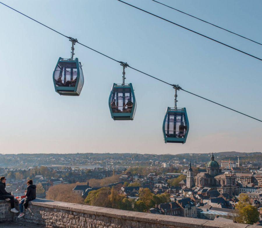 Poma: Commissioning of Namur Citadel´s Gondola
