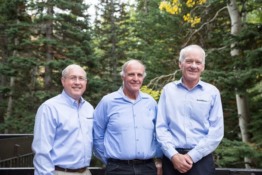 Snowbird congratulates Bob Bonar, Tom Jones and Jerry Giles on retirement