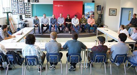 Industry Leaders Help Selkirk College Students Deepen Their Shreducation