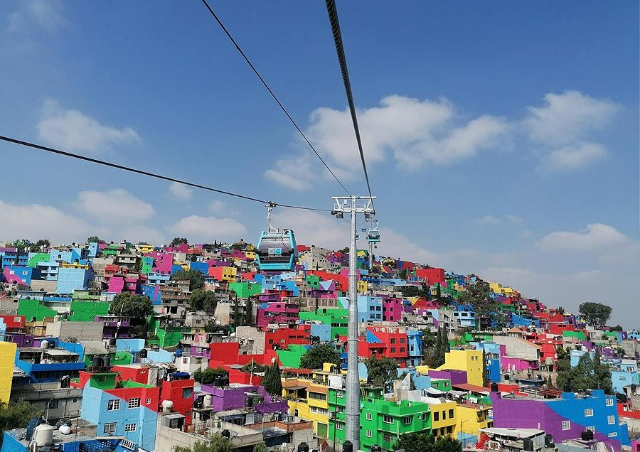 Leitner: Cablebus 2 gondola lift in Mexico City ready for operation