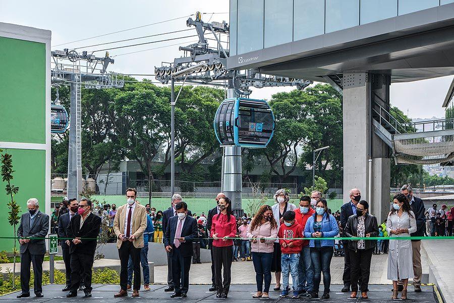 Mexico City celebrates its Doppelmayr urban ropeway