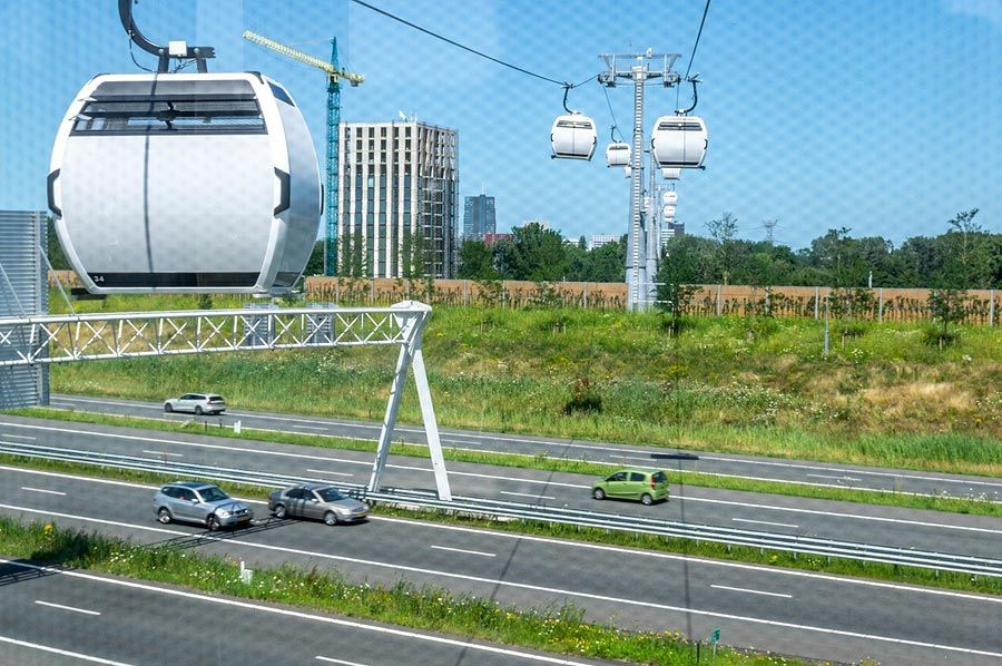 Doppelmayr: Floriade cable car open for visitors during Floriade Preview: see from the sky how Floriade develops