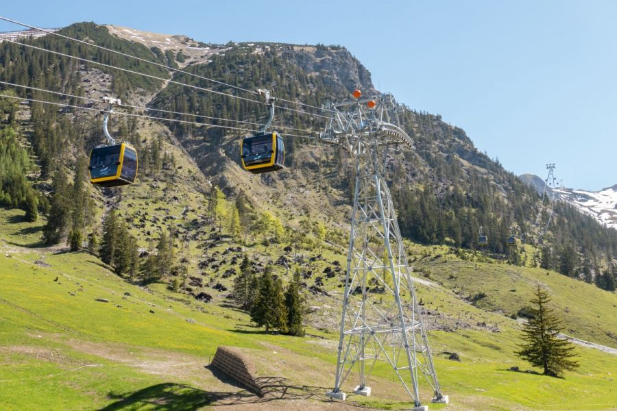 LEITNER: Latest bi-cable technology in Oberstdorf