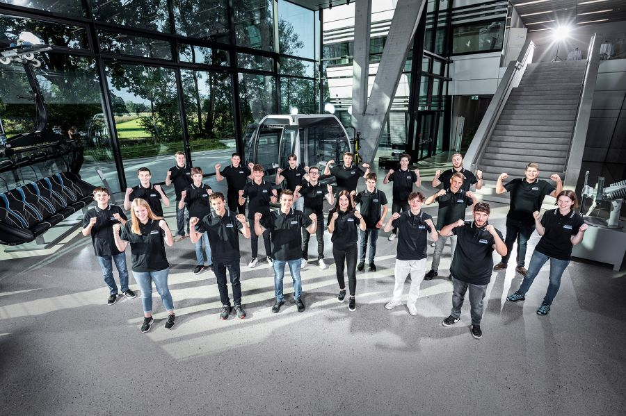 Doppelmayr welcomes 21 new apprentices