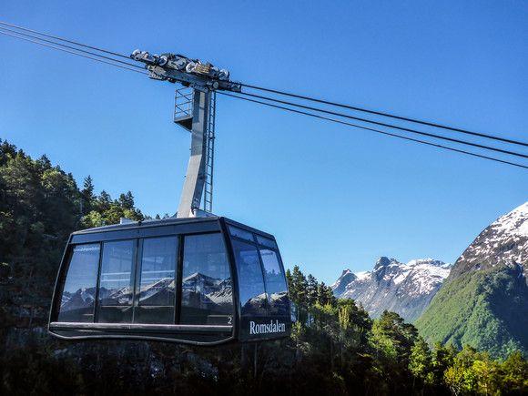 Doppelmayr: Norway's longest aerial tramway in Åndalsnes