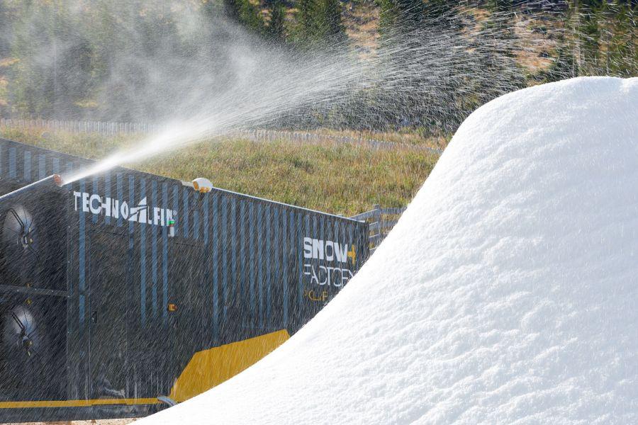 TechnoAlpin presents its new improved SnowFactory models