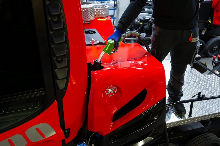 Pistenbully: Around 90% less CO2 emissions!